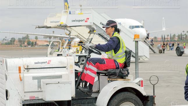 صالير يصل 3000 درهم شهريا شركة تدبير المطارات Swissport. توظيف 30 منصب بالباك، الدبلوم، الاجازة بمطار الناظور